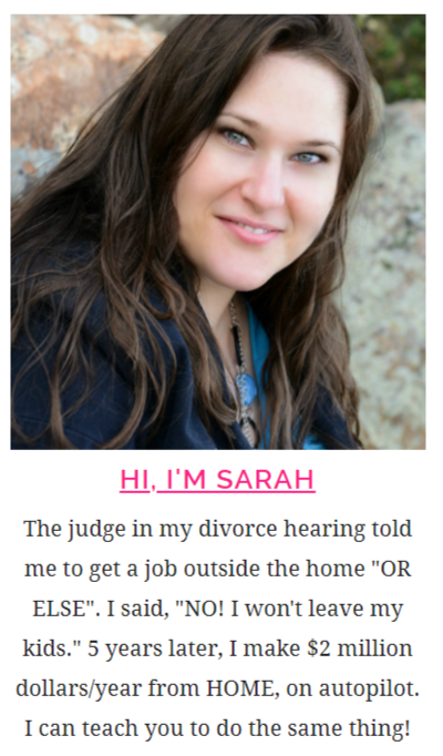 sarah titus income report