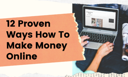 Work From Home: 12 Proven Ways to Make Money on the Internet