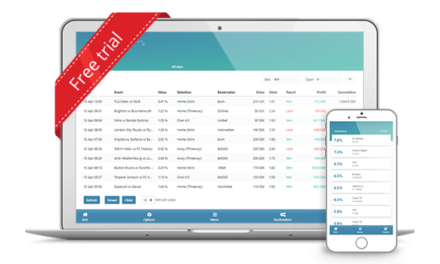 Try ValueBetting for free