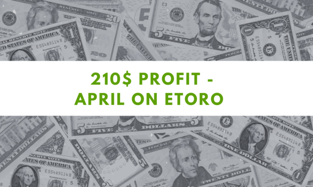 eToro one Million challenge – 210$ profit on April 2021