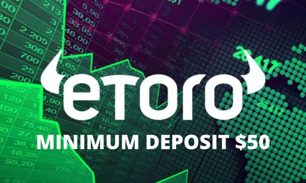 eToro minimum deposit now $ 50!